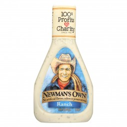 Newman's Own Salad Dressing...