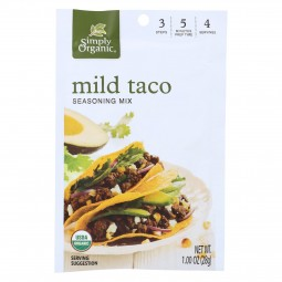 Simply Organic Mild Taco...