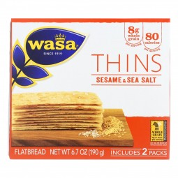Wasa Sesame & Sea Salt...