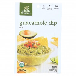 Simply Organic Guacamole...